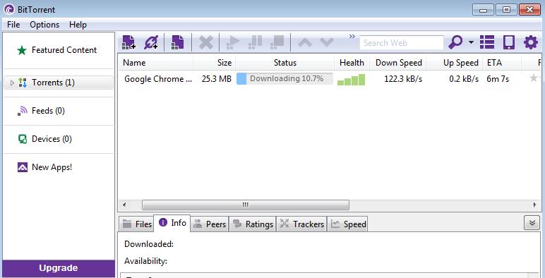 Download BitTorrent for Windows