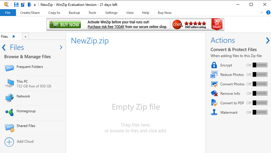 Download WinZip Free for Windows
