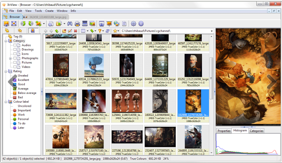 Download XnView Free for Windows