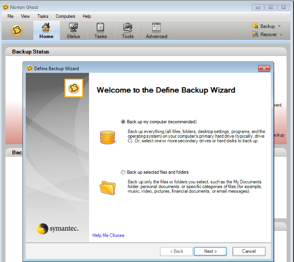 Download Norton Ghost Free for Windows