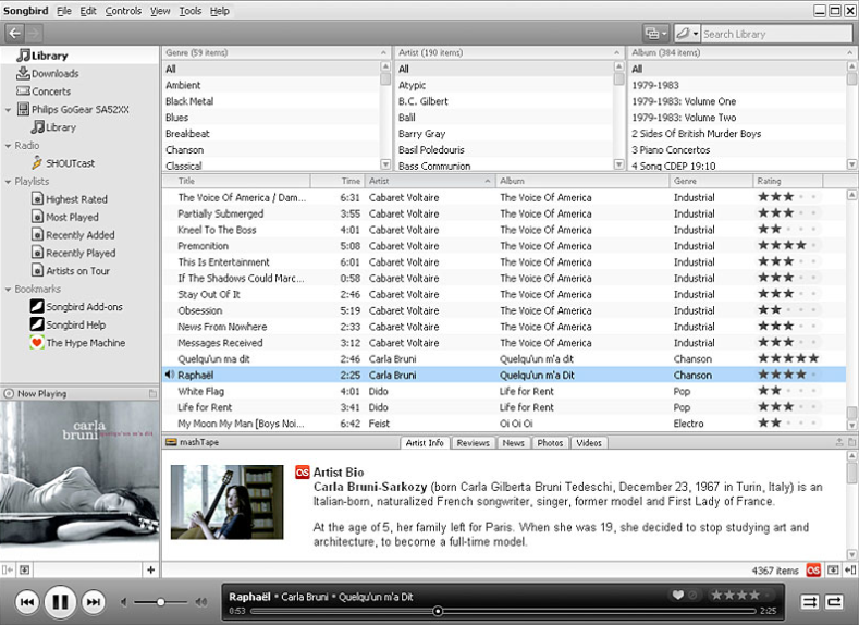 Download Songbird Free for Windows