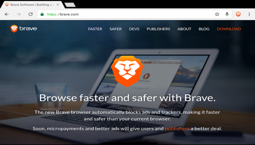 Download Brave Browser for Windows