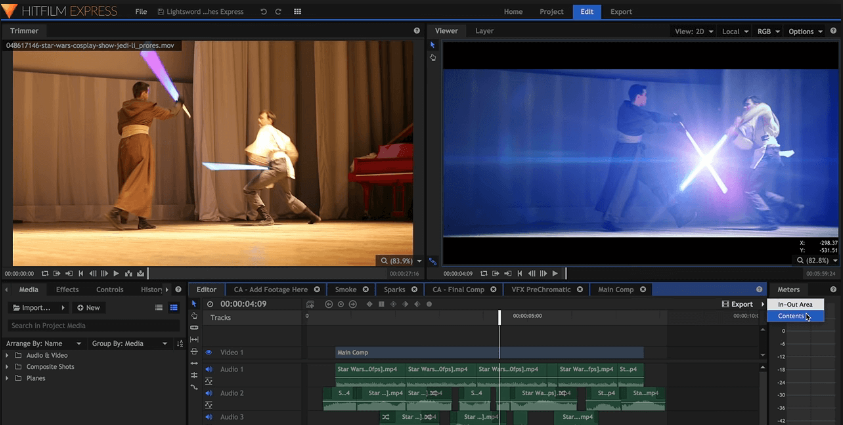 Download HitFilm Express Free for Windows