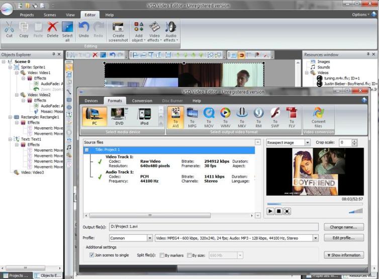 video crop app download for pc