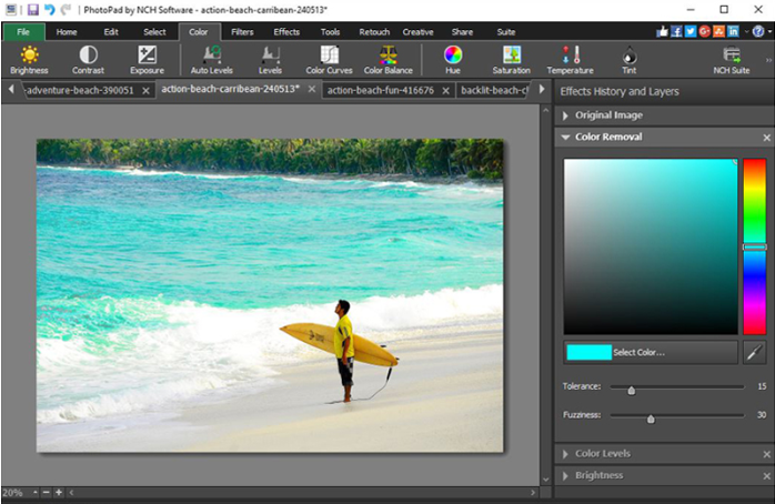 Download PhotoPad Image Editor Free for Windows
