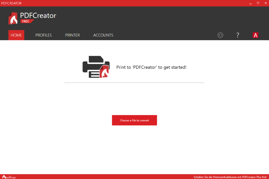 Download PDFCreator Free for Windows