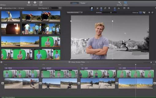 Apple iMovie Video Editing