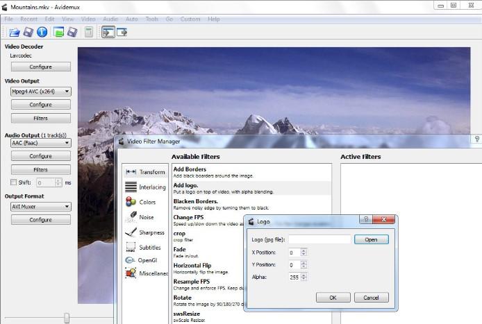 Avidemux Free for Windows