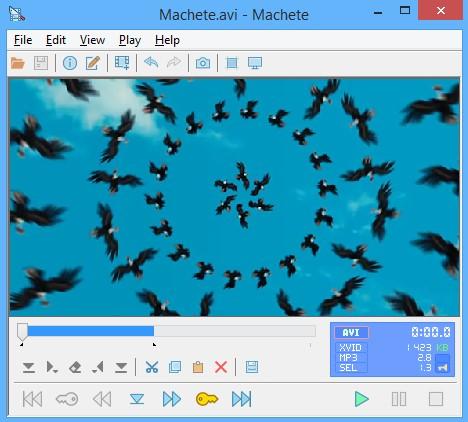 Machete Video Editor Lite Software