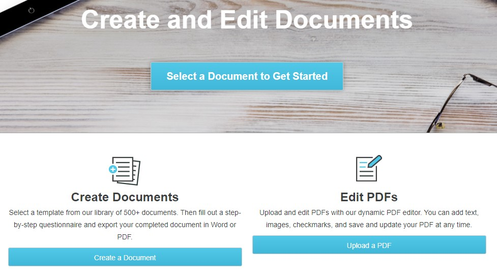 FormSwift different experience in PDF editing