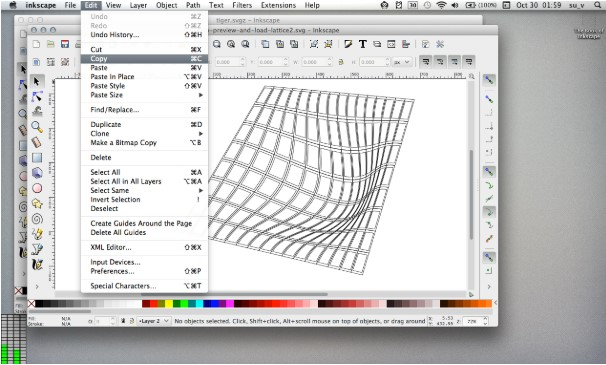 Inkscape renowned image viewer and editor